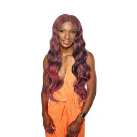 Sleek Synthetic Weaves  Fashion Idol 101 Classic Brazilian Hair – Hot Elegance Weave Full Head