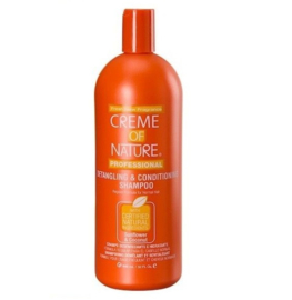 Creme of Nature Sunflower & Coconut Detangling Conditioning Shampoo 32 oz