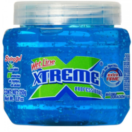 Wet Line Xtreme Professional Styling Gel Extra Hold Blue, 8.8 Oz / 250 Ml