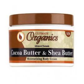 Ultimate Organic Cocoa & Shea Butter Body Cream 216 gr