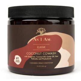 As I Am Naturally Coconut CoWash 16oz