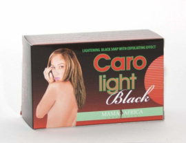 African Black Soap - CARO LIGHT LIGHTENING BLACK SOAP WITH EXFOLIATING EFFECT 200g