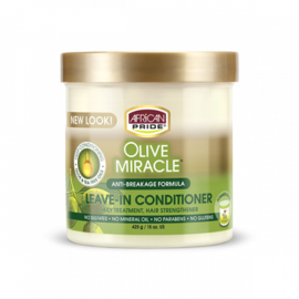 African Pride Olive Miracle Leave in Conditioner 425g
