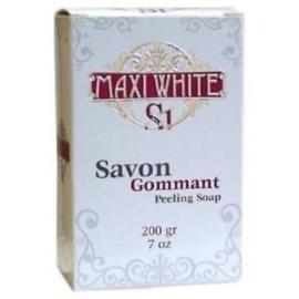 Maxi White S1 Savon Gommant Peeling Soap 200g