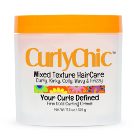 CurlyChic Your Curls Defined Firm Hold Curling Creme 326gr