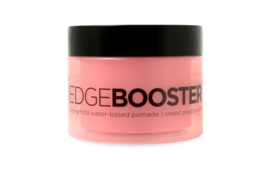 Style Factor Edge Booster Strong Hold Water Based Pomade Sweet Peach 3.38oz