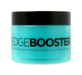 Style Factor Edge Booster Strong Hold Water Based Pomade Cucumber Lime 3.38 oz