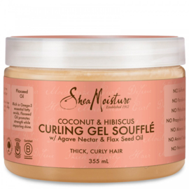 Shea Moisture Coconut & Hibiscus Curling Gel Souffle 340 Gr
