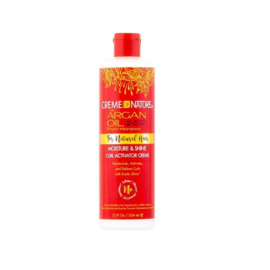 Creme Of Nature Argan Oil For Natural Hair Moisture & Shine Curl Activator Creme 354ml