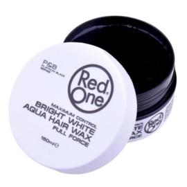 Red One Aqua Bright White Hair Wax 150 ML