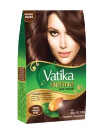 Dabur Vatika Henna Hair Color 6x10gr. Natural Brown