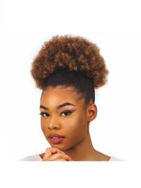 "BOND GIRLS - Afro Puffy Medium 10"""