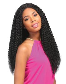 Sensationnel Empress Braided Lace Wig Senegal Blunt Braids