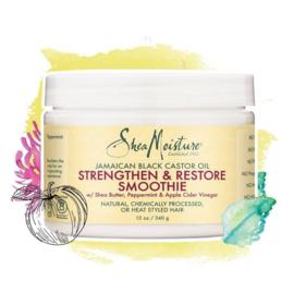 Shea Moisture Jamaican Black Castor Oil Strengthen & Restore Smoothie 12 oz
