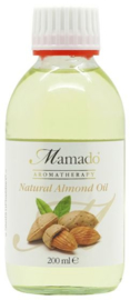Mamado Natural Almond Oil 200ml.
