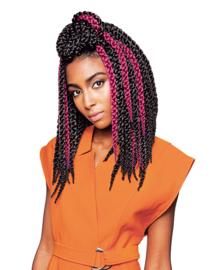 "X-Pression Crochet Braids 3d Twist Braid 12"" inch"