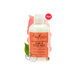 Shea Moisture Coconut & Hibiscus Curl & Style Milk 8oz