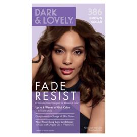 Dark & Lovely Fade Resist Brown Sugar Rich Conditioning Color 386