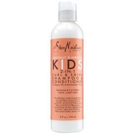 Shea Moisture Coconut & Hibiscus Kids Curl & Shine 2-In-1 Shampoo & Conditioner 236 Ml