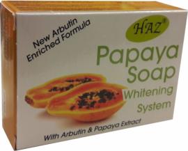 HAZ Papaya Whitening Soap 100 g