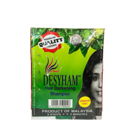 Desyham Hair Color Shampoo Black - 1 stuk 25 ml