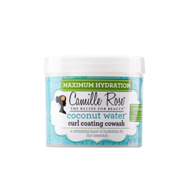 Camille Rose Coconut Water Curl Coating Cowash 12 oz