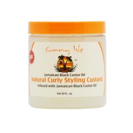 Sunny Isle Jamaican Black Castor Oil Styling Custard 8 oz