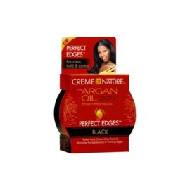 Creme Of Nature Argan Oil Perfect Edges Black 2.25oz