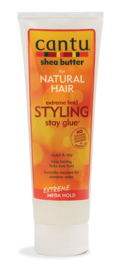 Cantu Natural Extreme Hold Styling Stay Glue 227 gr