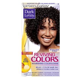 Dark & Lovely Reviving Colors Natural Black 395