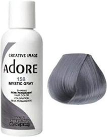 Adore Semi Permanent Hair Color 158 Mystic Gray 118 ml