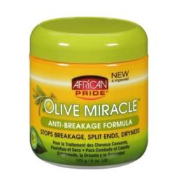 African Pride Olive Miracle Anti Breakage Formula 6oz