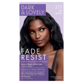 Dark & Lovely Fade Resist Jet Black Rich Conditioning Color 371