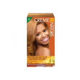 Creme Of Nature Moisture Rich Hair Color Kit C41 Honey Blonde