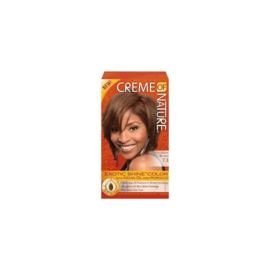 Creme Of Nature Exotic Shine Color With Argan Oil 7.3 Medium Warm Brown