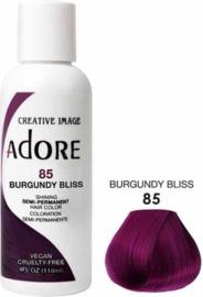 Adore Semi Permanent Hair Color 85 Burgundy Bliss 118 ml