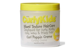 Curly Kids Curl Poppin Creme 170 gr