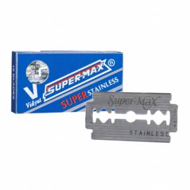 Supermax Super Stainless scheermesjes  - 10 Stuks