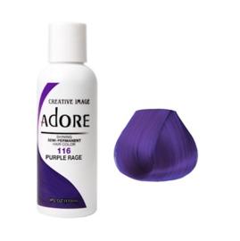 Adore Semi Permanent Hair Color 116 - Purple Rage 118 ml