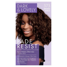 Dark & Lovely  Fade Resist Brown Sable Rich Conditioning Color 373