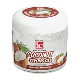 Fantasia IC Hair Polisher Coconut Styling Gel 454g
