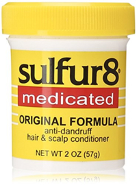 Sulfur 8 Anti-Dandruff Hair and Scalp Conditioner Hairdress 57 g