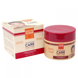 Doctor Clear Lightening CARE Facial Cream 8 Oz/227 G