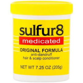 Sulfur 8 Anti-Dandruff Hair and Scalp Conditioner Hairdress 205 g