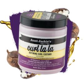 Aunt Jackie's Curls & Coils Curl La La Defining Curl Custard