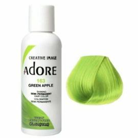 Adore Semi Permanent Hair Color 163 Green Apple 118 ml