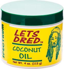 Lets dread coconut oil