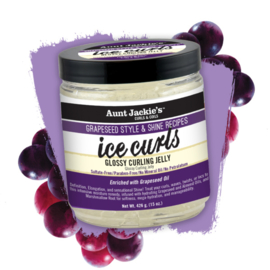 Aunt Jackie's Grapeseed Ice Curls Glossy Curling Jelly 426g / 15oz