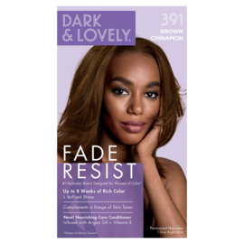 Dark & Lovely Fade Resist Brown Cinnamon Rich Conditioning Color 391