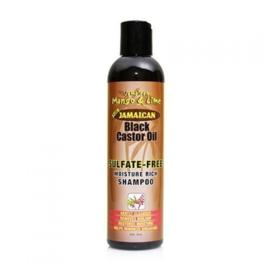 Jamaican Mango & Lime Black Castor Oil  SULFATE FREE SHAMPOO 8 oz